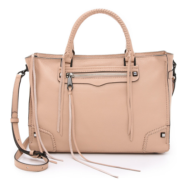 REBECCA MINKOFF Regan satchel - A large Rebecca Minkoff tote in pebbled leather.