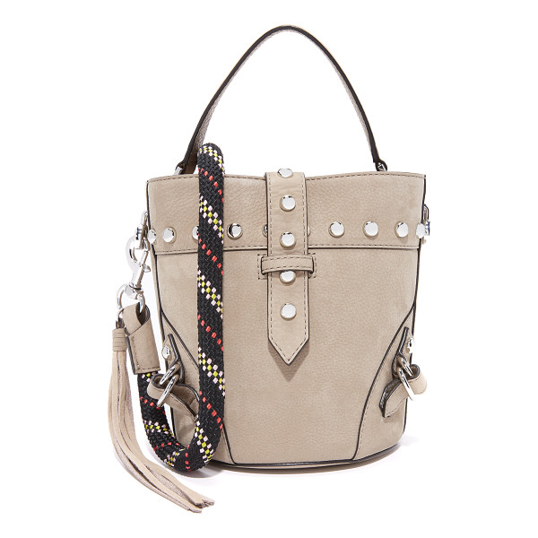 REBECCA MINKOFF rose mini tote with climbing rope - A scaled-down Rebecca Minkoff tote with a slim strap...