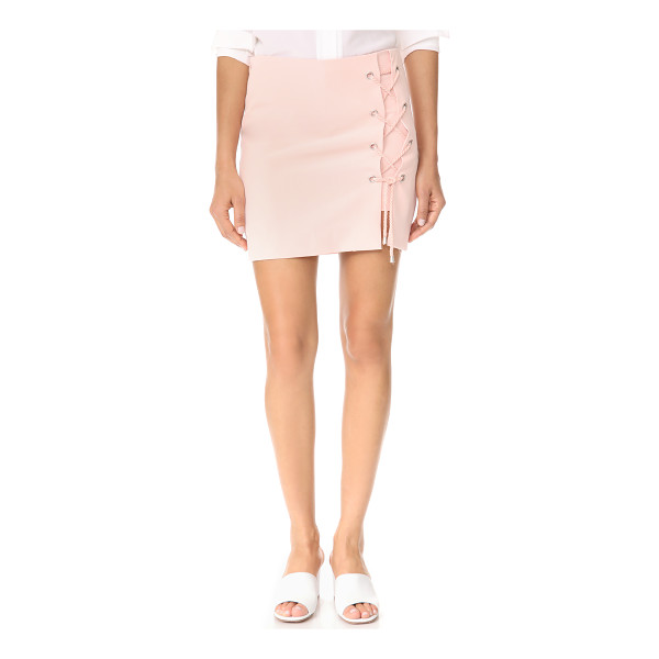 REBECCA MINKOFF stevia skort - NOTE: Runs true to size. A smooth skirt overlay covers the...