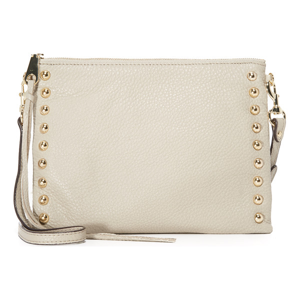 REBECCA MINKOFF Rebecca Minkoff Studded Jon Cross Body Bag - A narrow Rebecca Minkoff cross body bag trimmed with...