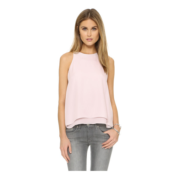 REBECCA TAYLOR Aerin top - Delicate silk composes this sleeveless Rebecca Taylor top....
