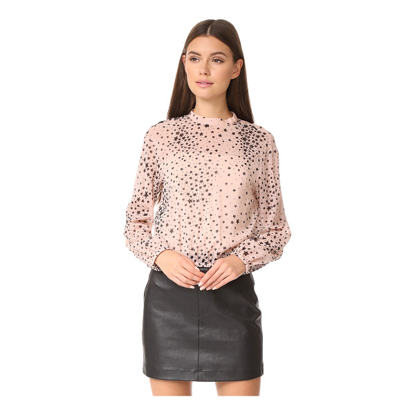 RED VALENTINO star top - Scattered stars bring playful charm to this airy RED...