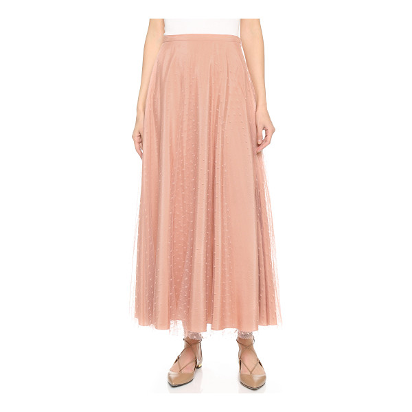 RED VALENTINO Tulle skirt - This swingy RED Valentino skirt makes a feminine impression...