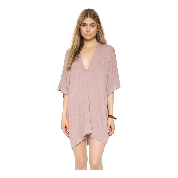 RILLER & FOUNT Lola caftan - A simple Riller & Fount caftan in soft jersey. Deep V...