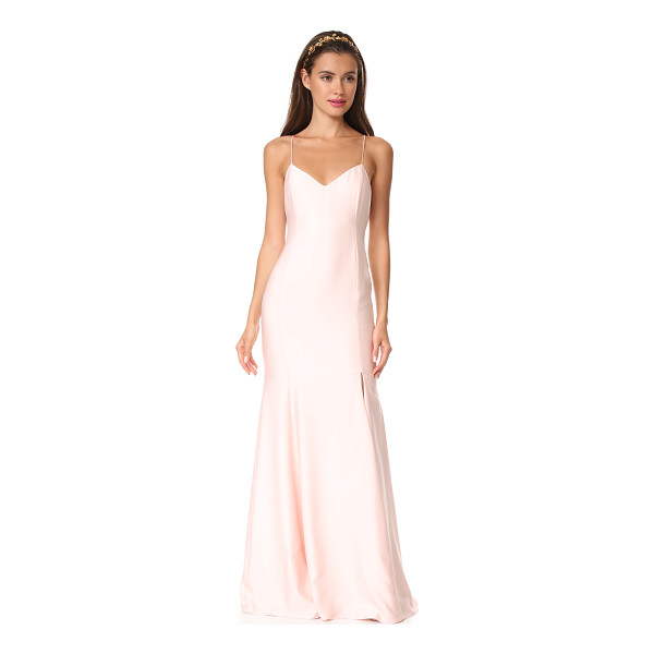 RIME ARODAKY mara gown - A deep front slit enhances the relaxed fit of this...