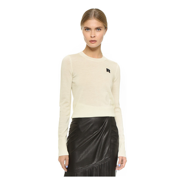 ROCHAS Long sleeve sweater - A soft, lightweight Rochas sweater with timeless appeal....