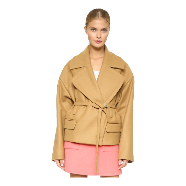 ROCHAS Oversized coat - This boxy Rochas coat cuts a structured, yet swingy...
