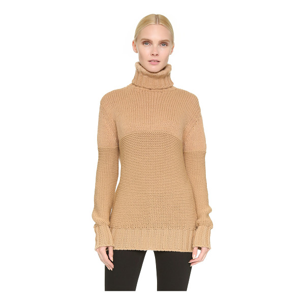 ROCHAS Turtleneck sweater - A loose fitting Rochas turtleneck sweater in a plush virgin...