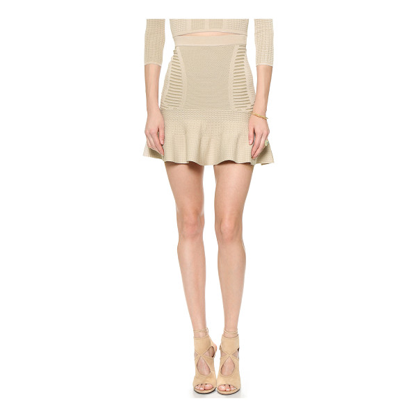 RONNY KOBO Joni skirt - Mixed stitches bring texture and pattern to this Ronny Kobo...