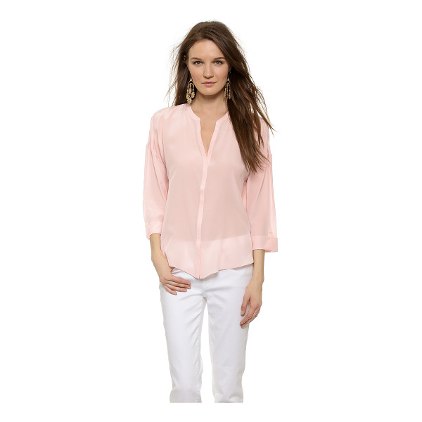 RORY BECA Cole blouse - Ruched shoulders bring soft volume to this silk Rory Beca...