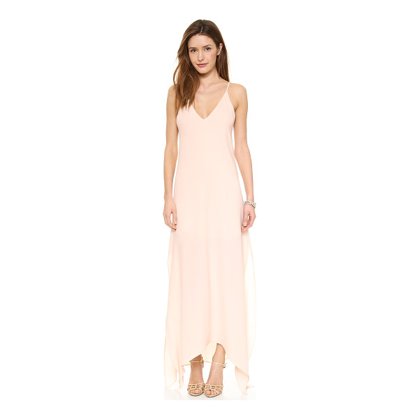 RORY BECA The Ever Gown - Exclusive to Shopbop. Side slits and an asymmetrical hem...