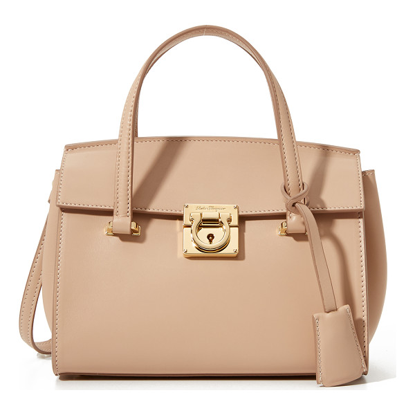 SALVATORE FERRAGAMO Mara micro satchel - A petite Salvatore Ferragamo satchel in a structured shape.