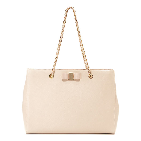 SALVATORE FERRAGAMO Melike bag - A sophisticated Salvatore Ferragamo satchel made from