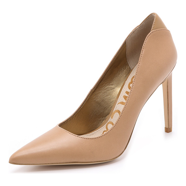 SAM EDELMAN Dea pumps - Classic, pointed toe Sam Edelman pumps, cut from sturdy