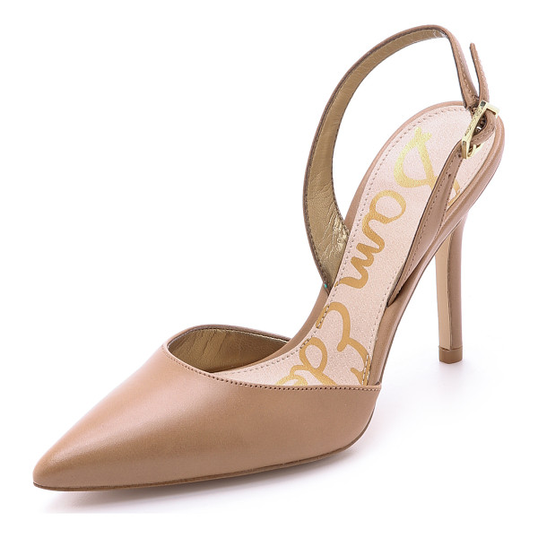 SAM EDELMAN Dora slingback pumps - Sophisticated Sam Edelman pumps, in a sleek, pointed toe...