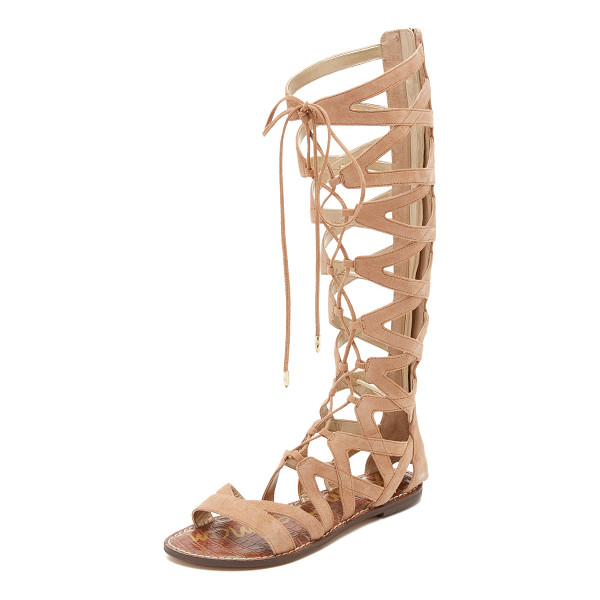SAM EDELMAN Gena tall gladiator sandals - Suede Sam Edelman gladiator sandals in a knee high...