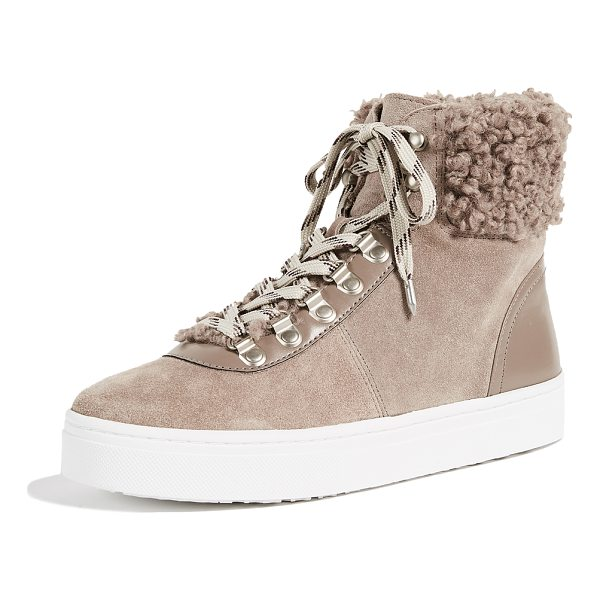 SAM EDELMAN luther high top sneakers - Hiking-boot inspired Sam Edelman high-top sneakers crafted...
