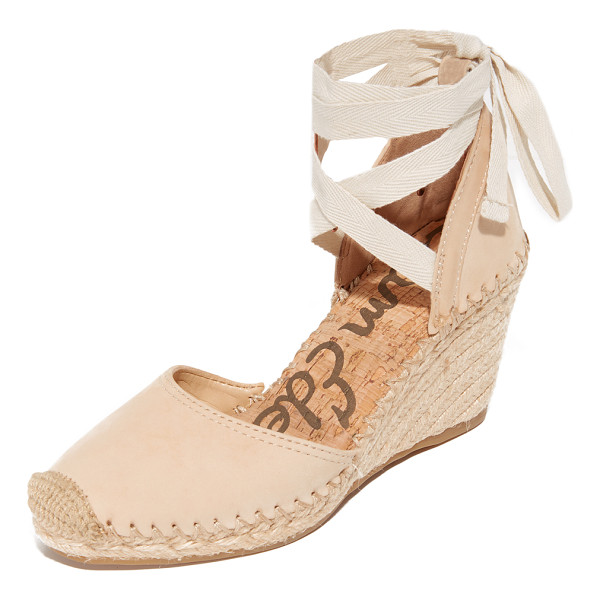 SAM EDELMAN patsy espadrille wedges - Espadrille-inspired Sam Edelman sandals, styled with a