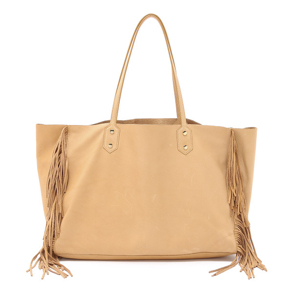 SAM EDELMAN Payton tote - Fringe accents the sides of this slouchy Sam Edelman tote....