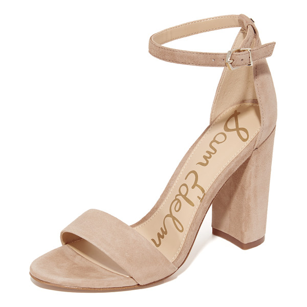 SAM EDELMAN yaro suede sandals - Refined Sam Edelman sandals cut from luxe suede. Slim ankle...