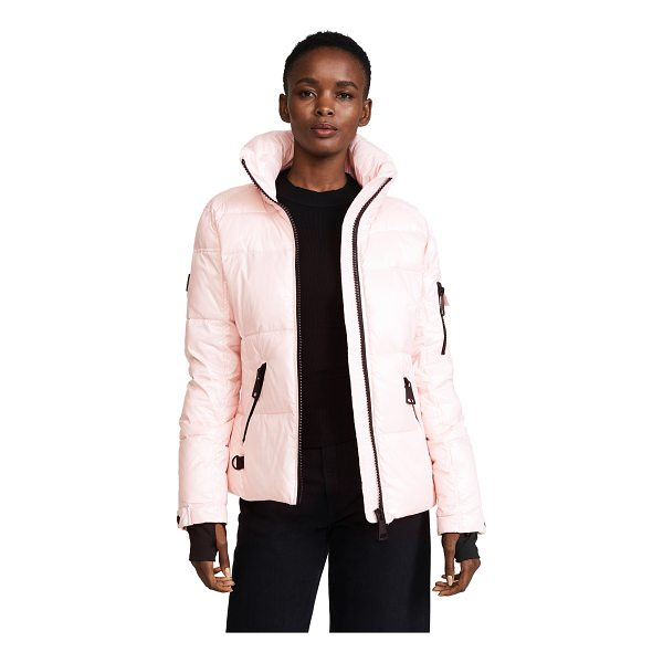 SAM. freestyle quilted jacket - A down-filled SAM. jacket with a lightweight nylon shell...