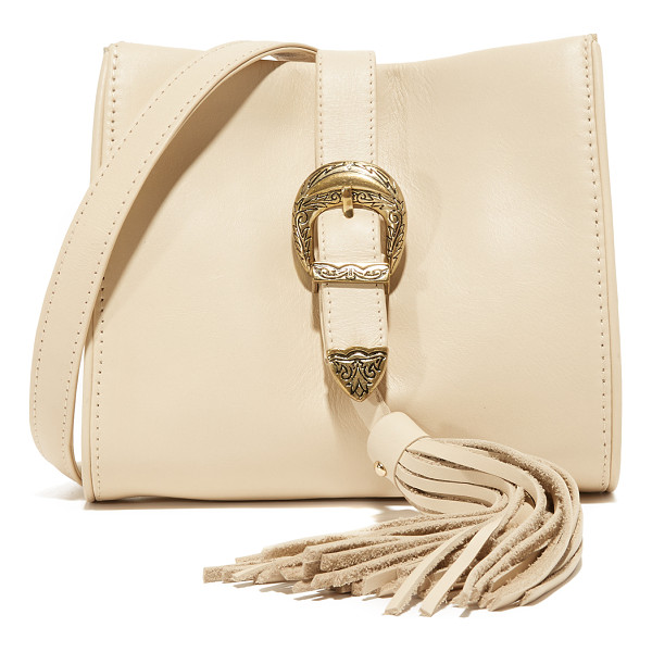 SANCIA X vanessa mooney buckle clutch - A collaboration between Sancia and Vanessa Mooney, this...