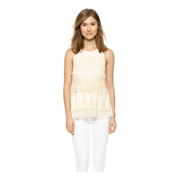 SAYLOR Hazel blouse - A draped fold over panel lends sweet volume to this Saylor...