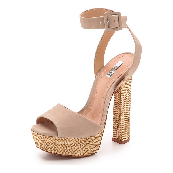 SCHUTZ Amatista sandals - A tapered design refines the towering heel of retro...