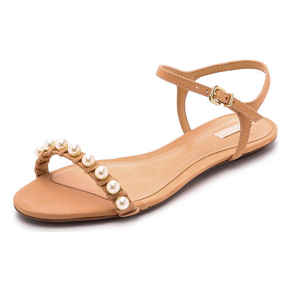 SCHUTZ Darussa imitation pearl sandals - A strand of lustrous imitation pearls adds a polished look...
