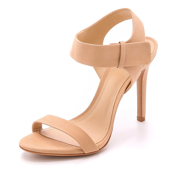 SCHUTZ Dubia sandals - Nubuck Schutz sandals in a simple 2 band design. Hidden