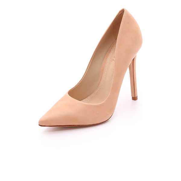 SCHUTZ Gilberta pumps - Nubuck Schutz pumps in a timeless, pointed toe profile....