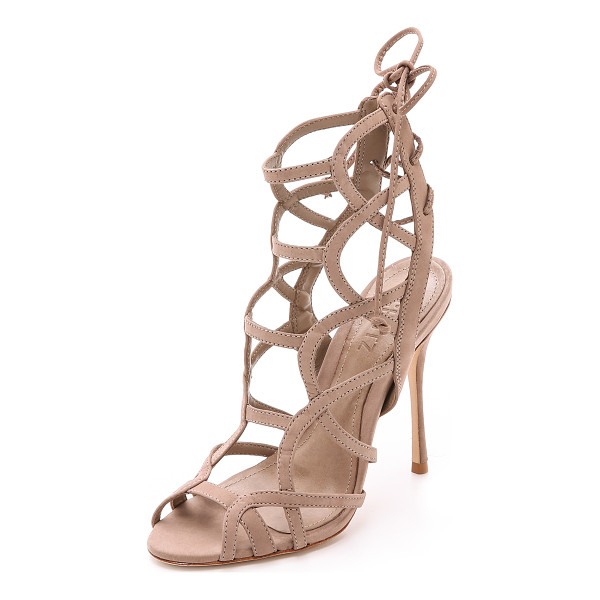 SCHUTZ Joelle strappy sandals - Curved straps form a sexy cage silhouette on these Schutz