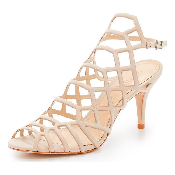 SCHUTZ Morely sandals - Delicate straps form a cage silhouette on these suede