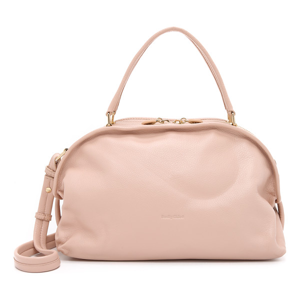 SEE BY CHLOE Bluebell satchel - A slouchy See by Chloé satchel in pebbled leather. Slim...