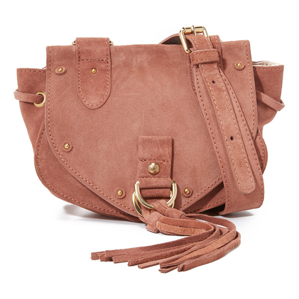 SEE BY CHLOE Collins mini saddle bag - A scaled down See by Chloé saddle bag, rendered in a mix of