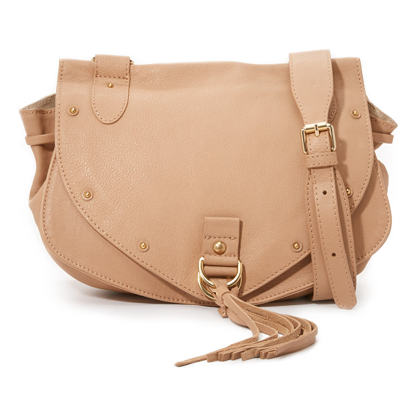 SEE BY CHLOE Collins saddle bag - A slouchy See by Chloé saddle bag in rich leather. Studs