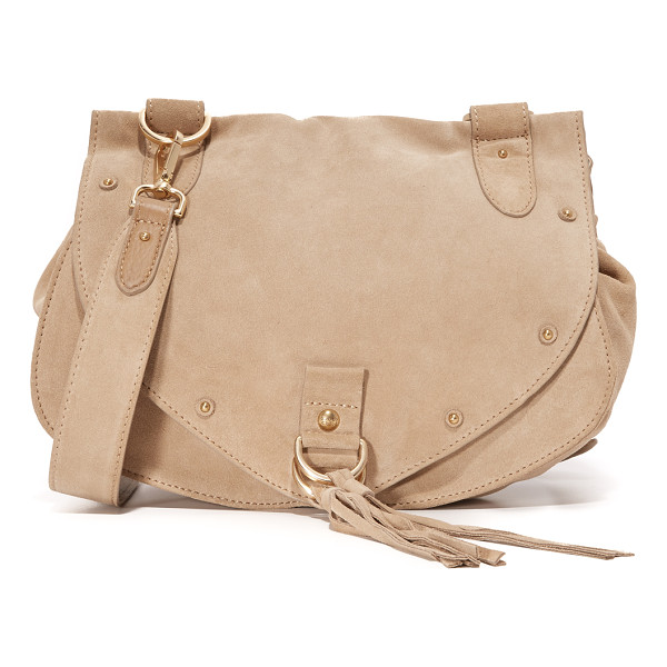 SEE BY CHLOE Collins saddle bag - A slouchy See by Chloé saddle bag made from soft nubuck.
