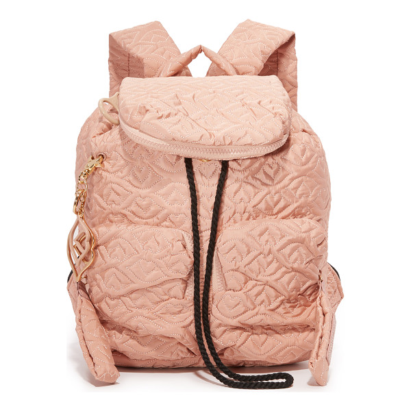 SEE BY CHLOE Joy rider backpack - A quilted nylon See by Chloé backpack with 2 optional logo