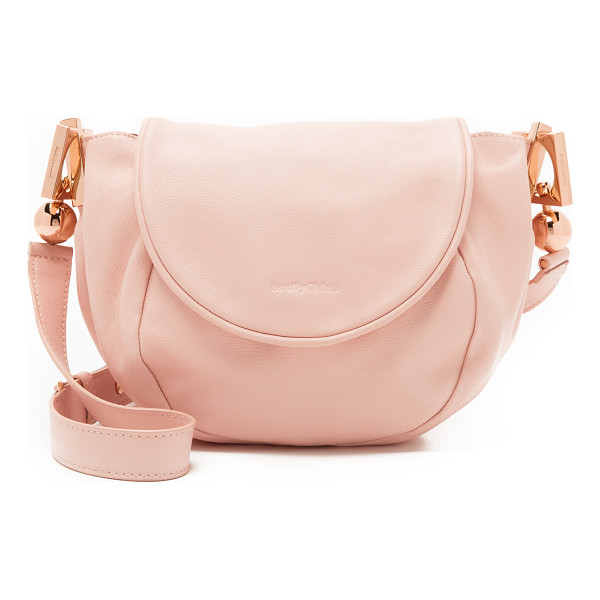 SEE BY CHLOE Lena messenger bag - A slouchy See by Chloé cross body bag in pebbled leather.