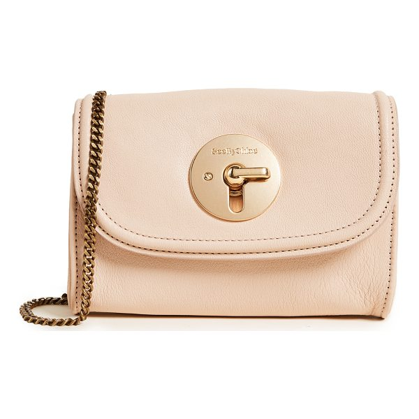 SEE BY CHLOE lois shoulder bag - A small See by Chloé cross-body bag crafted in buttery...