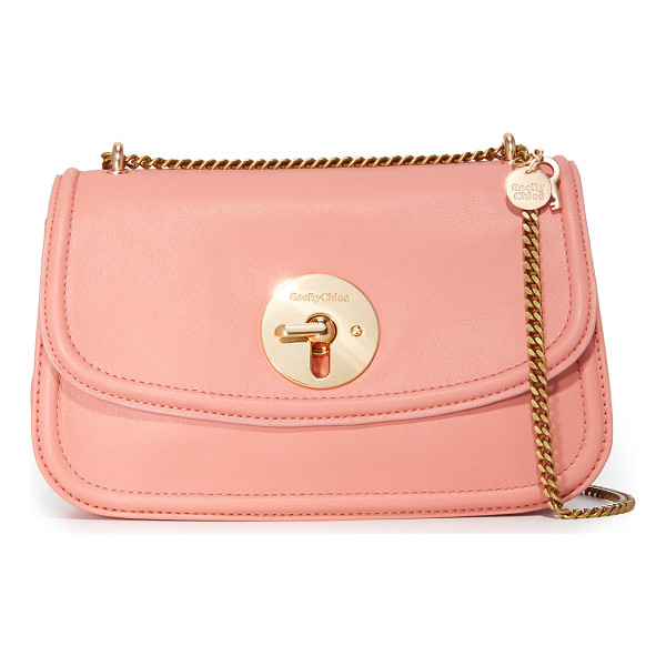SEE BY CHLOE lois shoulder bag - A small See by Chloé cross body bag crafted in buttery