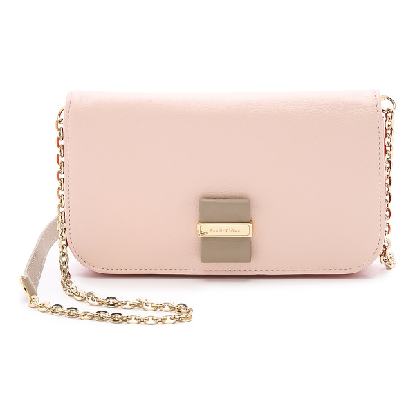 SEE BY CHLOE Rosita mini cross body bag - A petite leather See by Chloe cross body bag with contrast