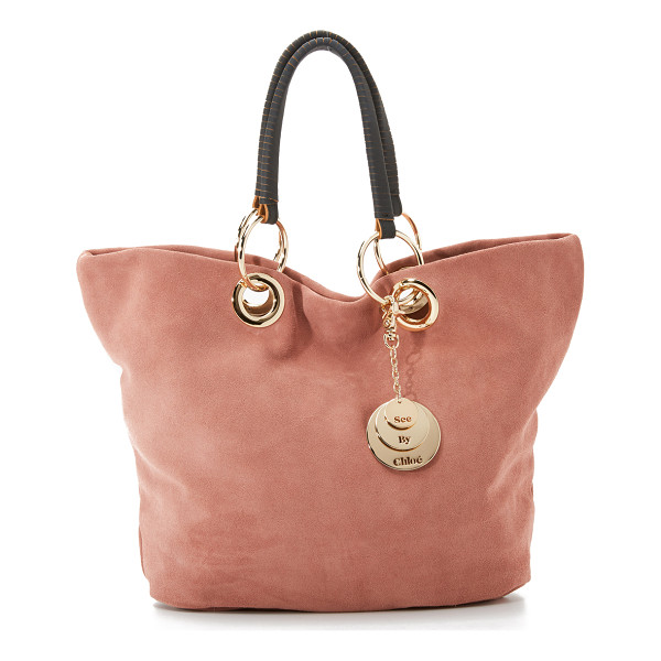 SEE BY CHLOE summer tote - A slouchy See by Chloé tote in rich suede. A polished charm