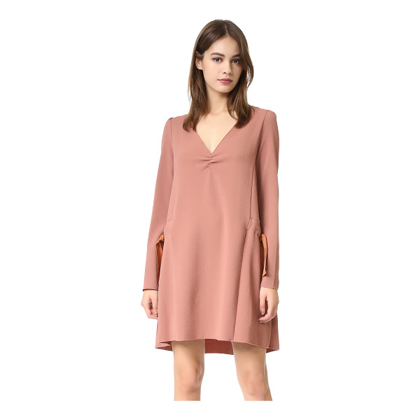 SEE BY CHLOE tie shift dress - A slouchy See by Chloé shift dress in tactile crepe. Ties...