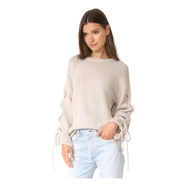 SEE BY CHLOE tie sleeve sweater - This slouchy See by Chloé sweater has a relaxed feel, with...