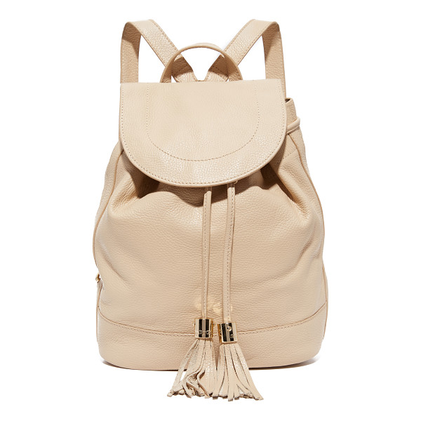 SEE BY CHLOE vicki backpack - A sophisticated See by Chloé backpack, rendered in pebbled