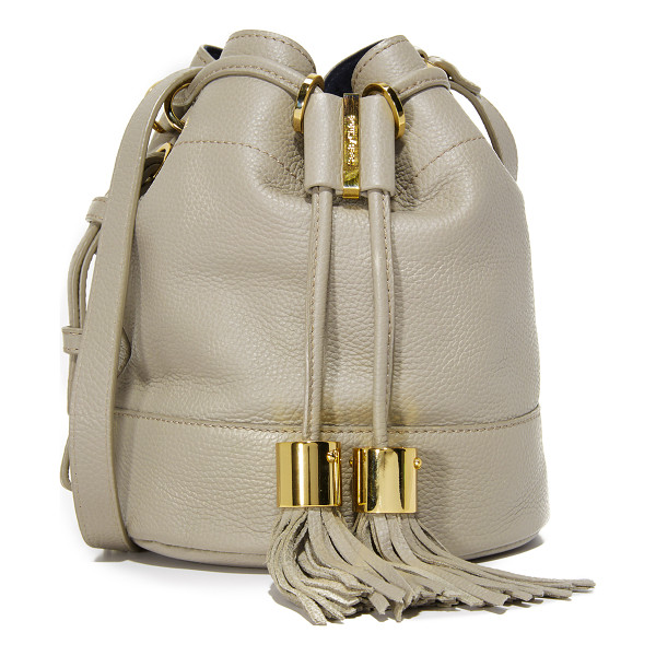 SEE BY CHLOE Vicki bucket bag - A slouchy See by Chloé bucket bag rendered in soft,
