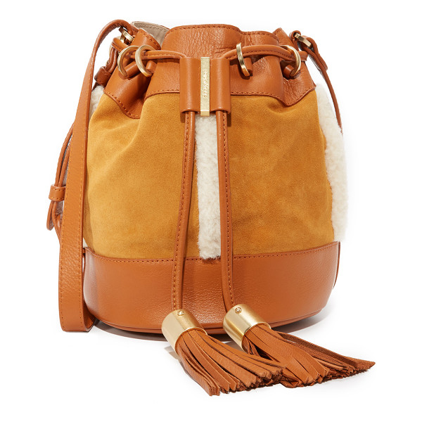 SEE BY CHLOE vicki bucket bag - A slouchy See by Chloé bucket bag rendered in soft,...