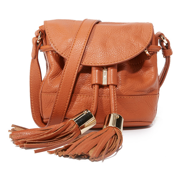 SEE BY CHLOE Vicki cross body bag - A petite See by Chloé cross body bag, accented with leather