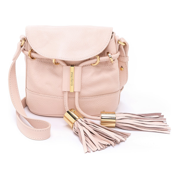 SEE BY CHLOE Vicki cross body bag - A petite See by Chloe cross body bag in pebbled leather.